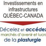 Investissements en infrastructures : Des marchés en plein essor pour l'industrie de la plasturgie, ici et à l'international !