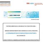 Mémoire SQRI : Se démarquer par les innovations de ruptures